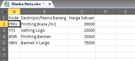Tabel Referensi