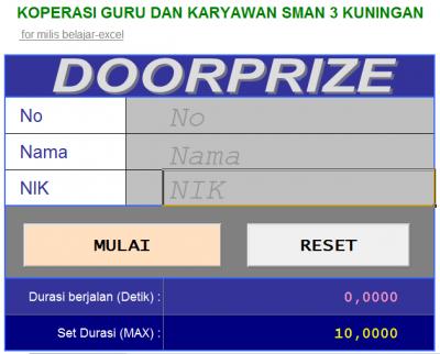 Doorprize